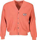 Football Collectibles:Uniforms, Circa 1967 Dave Robinson Presentational NEA All Pro Sweater....