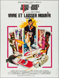 "Movie Posters:James Bond, Live and Let Die (United Artists, 1973). French Grande (47"" X 63"").James Bond.. ..."