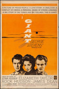 "Movie Posters:Drama, Giant (Warner Brothers, R-1963). Poster (30"" X 40""). Drama.. ..."