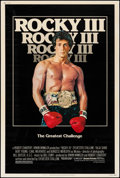 "Movie Posters:Sports, Rocky III (United Artists, 1982). Poster (40"" X 60""). Sports.. ..."