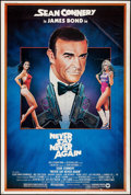 """Movie Posters:James Bond, Never Say Never Again (Warner Brothers, 1983). Poster (40"""" X 60""""). James Bond.. ..."""