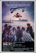 "Movie Posters:Action, Superman II (Warner Brothers, 1981). Poster (40"" X 60""). Action....."