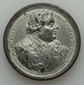 German States:Augsburg, German States: Augsburg. Free City white metal Luther Medal 1717UNC,...