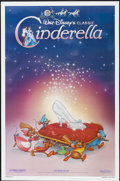 "Movie Posters:Animated, Cinderella (Buena Vista, R-1987). One Sheet (27"" X 41""). Animated...."