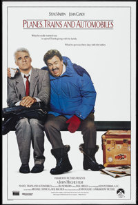 """Planes, Trains and Automobiles (Paramount, 1987). One Sheet (27"""" X 41""""). Comedy"""