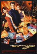 """Movie Posters:James Bond, The World is Not Enough (MGM, 1999). One Sheet (27"""" X 40"""") DS. James Bond. ..."""