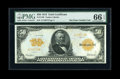 Large Size:Gold Certificates, Fr. 1199 $50 1913 Gold Certificate PMG Gem Uncirculated 66 EPQ....