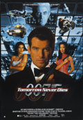 "Movie Posters:James Bond, Tomorrow Never Dies (United Artists, 1997). International One Sheet(27"" X 38.75"") SS. James Bond. ..."