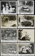 "Movie Posters:Animated, Peter Pan (Buena Vista, R-1958 and R-1969). Stills (8) (8"" X 10""). Animated. ... (Total: 8 Items)"