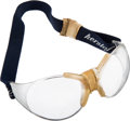 Basketball Collectibles:Others, 1980's Moses Malone Game Worn Goggles Sourced from Estate Sale. ...