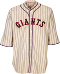 Baseball Collectibles:Uniforms, 1932 John McGraw Game Worn New York Giants Uniform, MEARS A9....