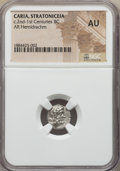 Ancients:Greek, Ancients: CARIA. Stratoniceia. Ca. 88-85 BC. AR hemidrachm. NGCAU....