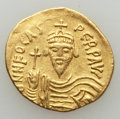 Ancients:Byzantine, Ancients: Phocas (AD 602-610). AV solidus (20mm, 4.38 gm). VF,clipped....