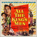 "Movie Posters:Academy Award Winners, All the King's Men (Columbia, 1949). Six Sheet (80"" X 79.5"").Academy Award Winners.. ..."