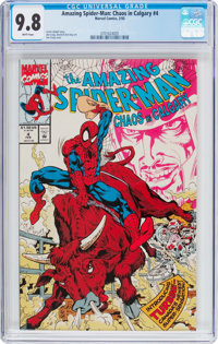 The Amazing Spider-Man: Chaos in Calgary (US version) #4 (Marvel, 1993) CGC NM/MT 9.8 White pages