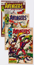 Bronze Age (1970-1979):Superhero, The Avengers Group of 49 (Marvel, 1966-79) Condition: Average FN.... (Total: 49 Comic Books)