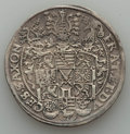 German States:Saxony, German States: Saxony. Christian II Johann Georg & August Taler 1594-HB VF - Corroded Mounted,...