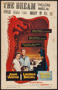 "Movie Posters:Action, Blood Alley (Warner Brothers, 1955). Window Card (14"" X 22"").Action.. ..."