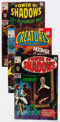 Silver Age (1956-1969):Horror, Tower of Shadows and Creatures on the Loose Group of 36 (Marvel,1969-75) Condition: Average FN.... (Total: 36 Comic Books)
