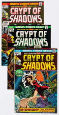 Bronze Age (1970-1979):Horror, Crypt of Shadows #1-21 Complete Run Group (Marvel, 1973-75)Condition: Average FN/VF.... (Total: 21 Comic Books)