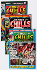 Bronze Age (1970-1979):Horror, Chamber of Chills #1-25 Complete Run Group (Marvel, 1972-76)Condition: Average FN.... (Total: 25 Comic Books)