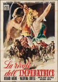 """Movie Posters:Foreign, The Rival of the Empress (Scalera Film, 1951). Italian 4 - Fogli (55"""" X 79""""). Foreign.. ..."""