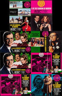 "The King of Marvin Gardens (Columbia, 1972). Italian Photobusta Set of 8 (18.5"" X 26""). Crime. ... (Total: 8 I..."