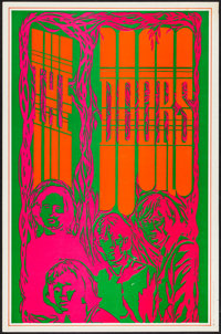 "The Doors (Saladin, 1967). Head Shop Poster (13"" X 20""). Rock and Roll"
