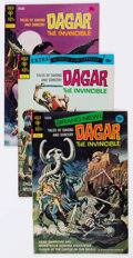 Bronze Age (1970-1979):Miscellaneous, Dagar the Invincible Group of 19 (Gold Key, 1972-77) Condition:Average VF.... (Total: 19 Comic Books)