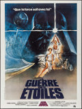 "Movie Posters:Science Fiction, Star Wars (20th Century Fox, 1977). French Grande (47"" X 63""). Science Fiction.. ..."