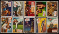 "Non-Sport Cards:Sets, 1954 Topps ""Scoops"" Partial Set (111/156). ..."