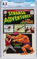 Silver Age (1956-1969):Science Fiction, Strange Adventures #180 (DC, 1965) CGC VF+ 8.5 White pages....