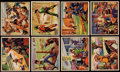 "Non-Sport Cards:Lots, 1950 Bowman ""Wild West"" Collection (89). ..."