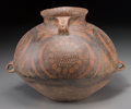 Asian:Chinese, A Chinese Archaic Pottery Vessel. 9-1/8 inches high (23.2 cm). ...