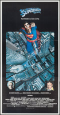"""Movie Posters:Action, Superman the Movie (Warner Brothers, 1978). International ThreeSheet (41"""" X 79""""). Action.. ..."""