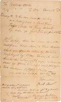 Autographs:U.S. Presidents, Andrew Jackson Autograph Endorsement Signed with Rank....