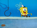 Animation Art:Production Cel, SpongeBob SquarePants Production Cel Setup (Nickelodeon,2000)....