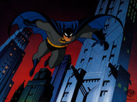 """Batman: The Animated Series """"I Am the Night"""" Limited Edition Cel #312/500 (Warner Brothers, 1993)"""