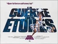 """Star Wars (20th Century Fox, 1977). French Double Grande (63"""" X 94.5""""). Science Fiction"""