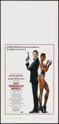 "Movie Posters:James Bond, A View to a Kill (United Artists, 1985). Italian Locandina (13"" X 27.5""). James Bond.. ..."