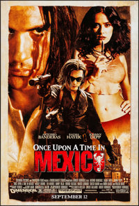 """Once Upon a Time in Mexico & Others Lot (Columbia, 2003). One Sheets (4) (27"""" X 40""""). DS Action. ... (..."""