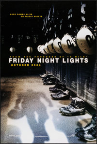 """Friday Night Lights & Others Lot (Universal, 2004). One Sheets (4) (27"""" X 40"""", 27"""" X 41"""") SS &am..."""