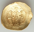 Ancients:Byzantine, Ancients: Romanus IV Diogenes (AD 1068-1071), with Eudocia, MichaelVII, Constantius and Andronicus. AV histamenon nomisma (25mm, 4.35g...