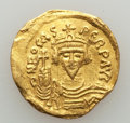 Ancients:Byzantine, Ancients: Phocas (AD 602-610). AV solidus (4.20 gm). Fine,clipped. ...