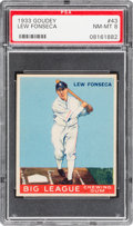 Baseball Cards:Singles (1930-1939), 1933 Goudey Lew Fonseca #43 PSA NM-MT 8....