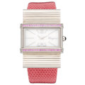 Estate Jewelry:Watches, Pink Sapphire, Stainless Steel Watch, Ferragamo . ...