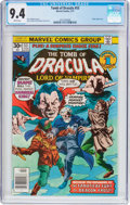 Bronze Age (1970-1979):Horror, Tomb of Dracula #53 (Marvel, 1977) CGC NM 9.4 White pages....