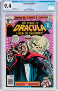 Bronze Age (1970-1979):Horror, Tomb of Dracula #55 (Marvel, 1977) CGC NM 9.4 White pages....