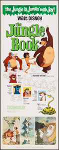 "Movie Posters:Animation, The Jungle Book (Buena Vista, 1967). Insert (14"" X 36""). Animation.. ..."