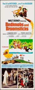 "Movie Posters:Animation, Bedknobs and Broomsticks (Buena Vista, 1971). Insert (14"" X 36""). Animation.. ..."